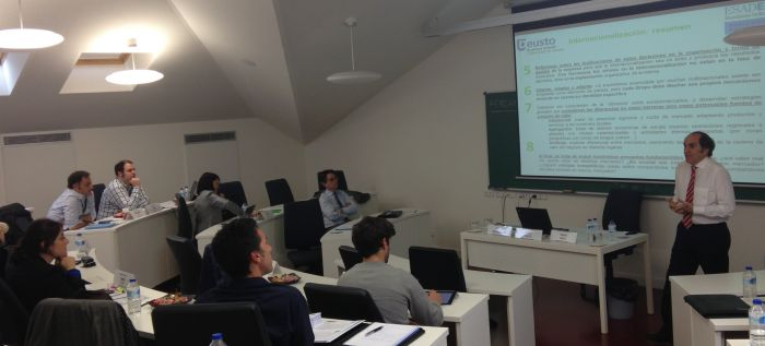 Sabin Azua and Oscar Valdivielso Lead a Seminar in PLD Sessions Sponsered by Deusto Business School and ESADE