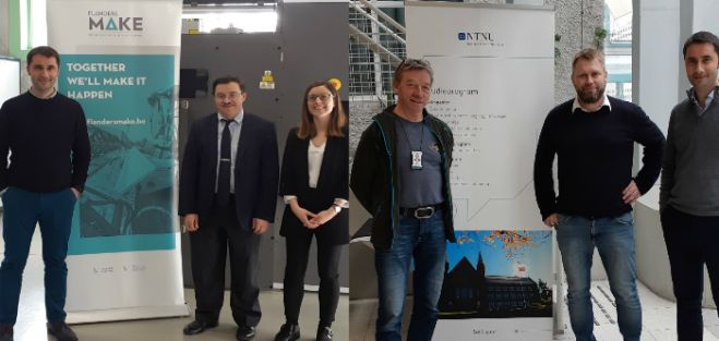 B+I Strategy accompanied Ikerlan on a visit to SINTEF, NTNU, KU Leuven and Flanders Make